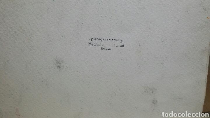 Arte: Acuarela dibujo original en el campanario - Foto 4 - 153270173