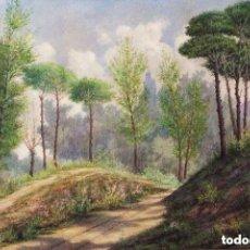 Arte: EMILIO SIVILLÀ TORRES (BARCELONA, 1845 - TÁNGER, 1894). ACUARELA/CARTULINA 56 X 38 CM. FIRMADA.. Lote 153368862