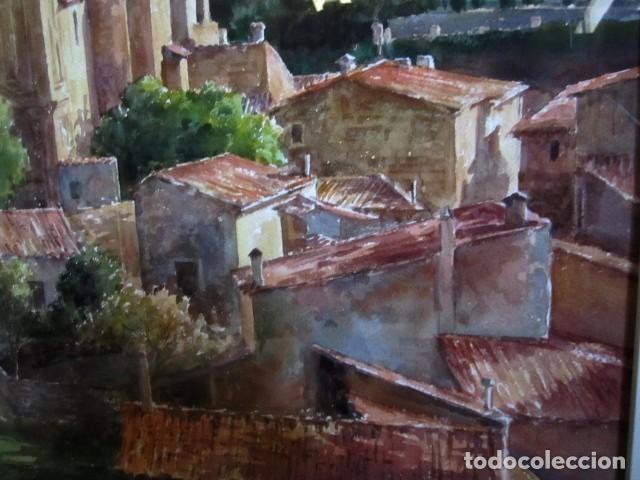Arte: Cuadro, acuarela de Cartuja de Vallemosa 2, en Mallorca , Faustino Blanco Vega Cuadro, acuarela de - Foto 5 - 153441354