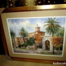Arte: CUADRO, ACUARELA DE CONSULADO DEL MAR, EN MALLORCA , FAUSTINO BLANCO VEGA . Lote 153441618