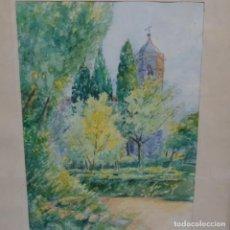Arte: ACUARELA FIRMADA JOAN BAIXAS.. Lote 153503050