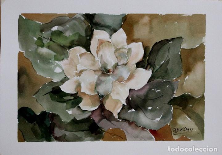 Arte: Flores de otoño obra de Luesma - Foto 2 - 153878534
