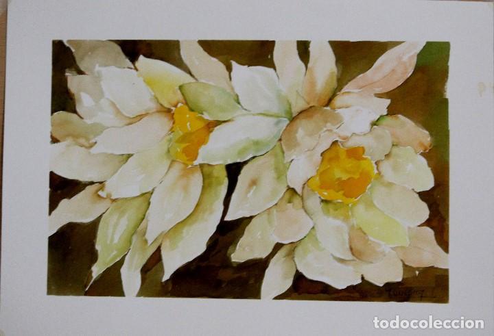 Arte: Flores amarillas obra de Luesma - Foto 2 - 153878702