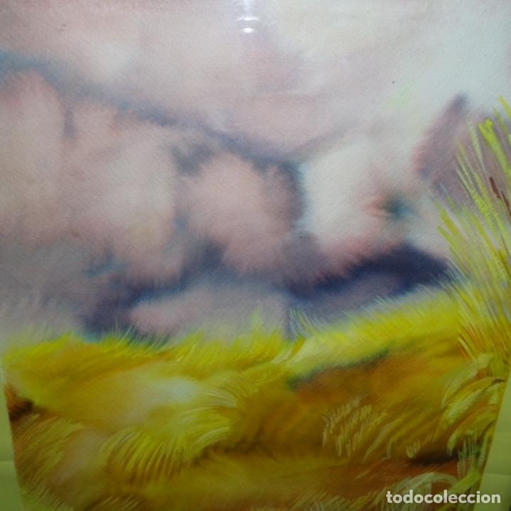 Arte: Acuarela con firma ilegible. - Foto 2 - 154445914