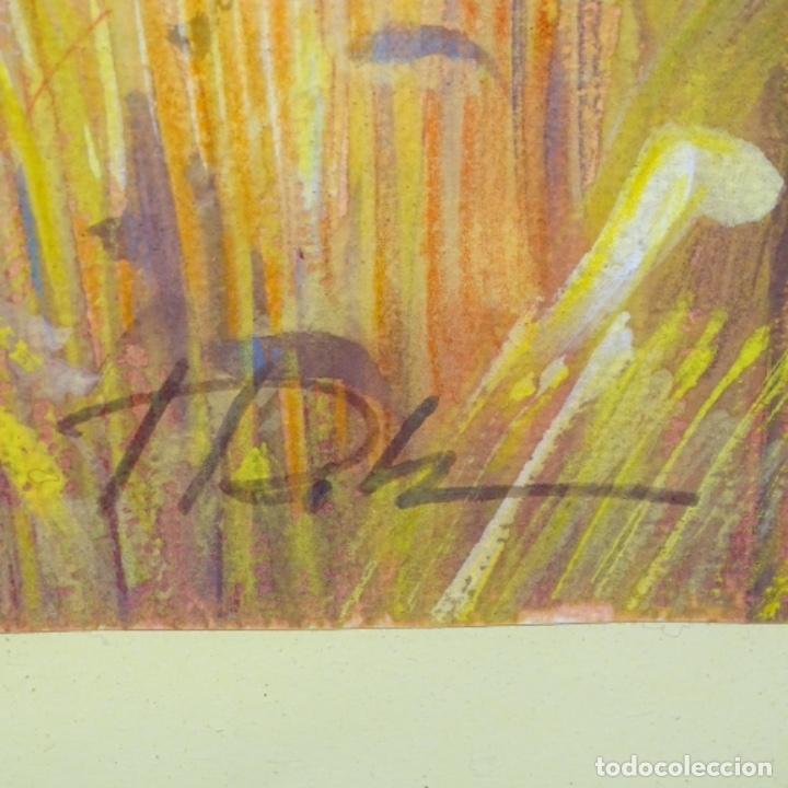 Arte: Acuarela con firma ilegible. - Foto 5 - 154445914