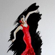 Arte: BAILAORA OBRA DE GILABERTE. Lote 154710994