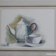 Arte: TETERA OBRA DE GILABERTE CON PASPASTU . Lote 154711326