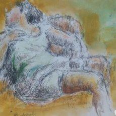 Arte: A CHICA TUMBADA /B ANCIANO. Lote 154837138