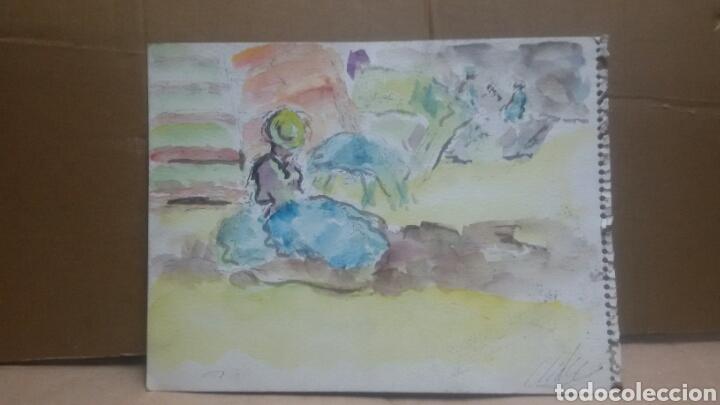 Arte: Acuarela A De picnic/B recuerdos - Foto 3 - 154842426