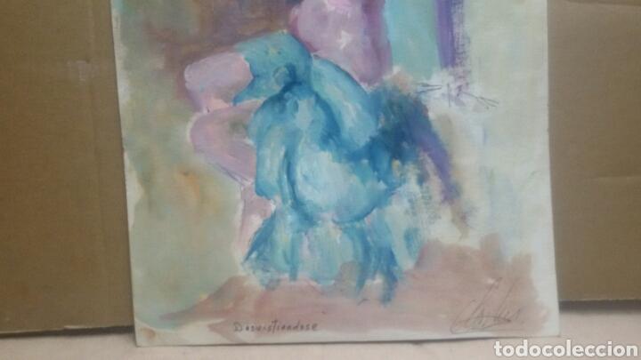Arte: Obra A desvistiendose/B dibujo boceto desvistiendose - Foto 2 - 154852554