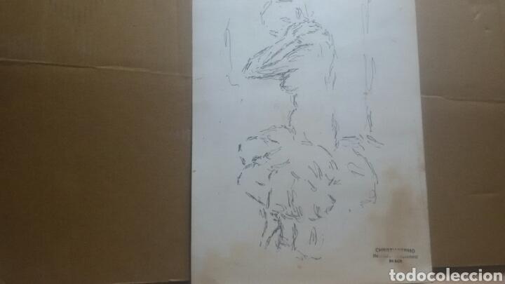 Arte: Obra A desvistiendose/B dibujo boceto desvistiendose - Foto 5 - 154852554