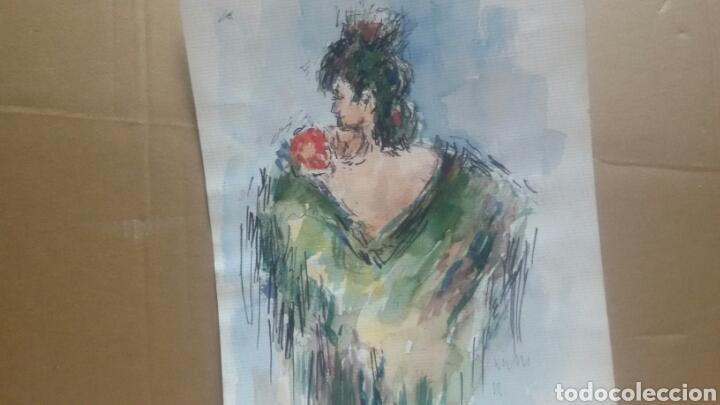 Arte: Mujer sevillana /B bocetos variedad - Foto 2 - 154855898