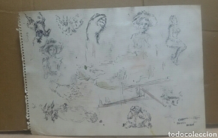 Arte: Mujer sevillana /B bocetos variedad - Foto 4 - 154855898