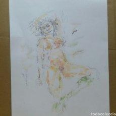 Arte: DIBUJO EROTICO (ORIGINAL. Lote 155182594