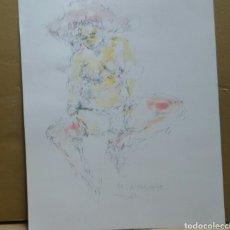 Arte: DIBUJO EROTICO (ORIGINAL). Lote 155182790