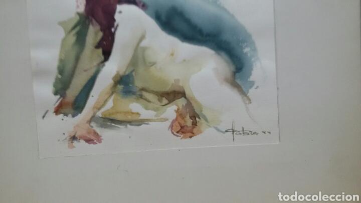 Arte: Acuarela desnudo erotico (original ) Fafra 94 - Foto 2 - 155185826