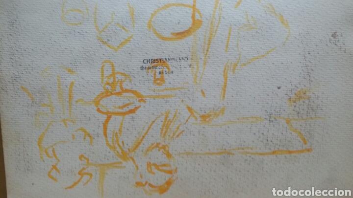 Arte: Acuarela Moulen Rouge After(original ) - Foto 5 - 155329982