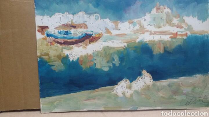 Arte: Acuarela costa obra original - Foto 2 - 155333082