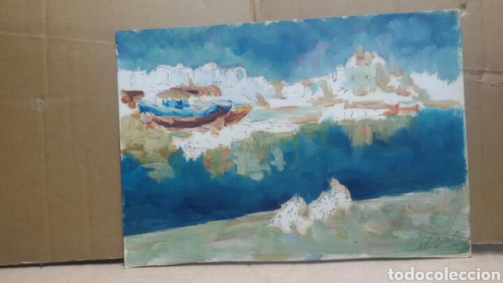 Arte: Acuarela costa obra original - Foto 3 - 155333082
