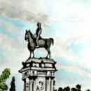 Arte: RETIRO DE MADRID OBRA DE GILABERTE. Lote 155399334