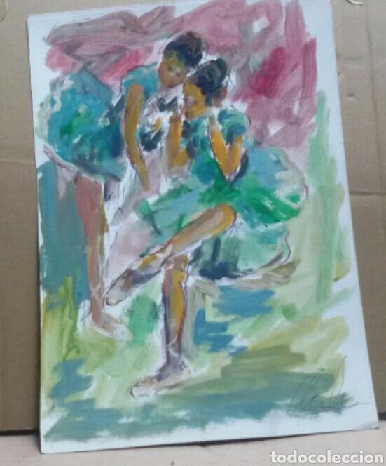 Arte: A Las Bailarinas /Taurino original - Foto 2 - 155544170