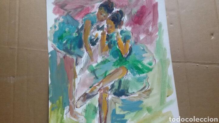Arte: A Las Bailarinas /Taurino original - Foto 3 - 155544170