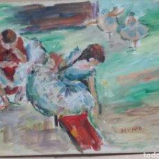 Arte: BAILARINAS DE SALÓN ORIGINAL. Lote 155702638