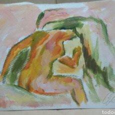 Arte: DESNUDEZ EN LA DUCHA. Lote 155705274