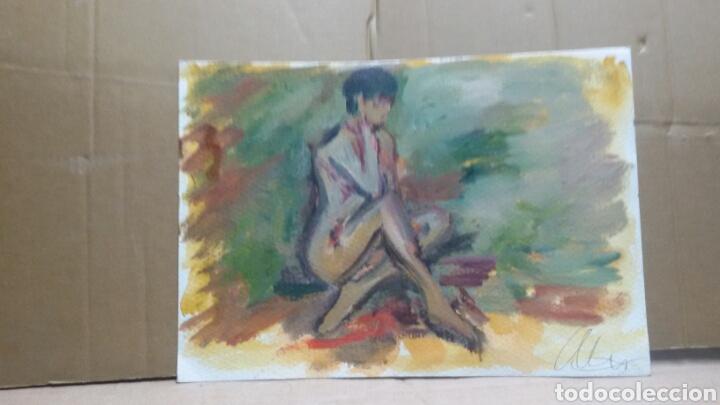 Arte: Sensualidad de mujer original - Foto 3 - 155705582