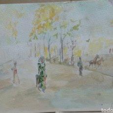 Arte: A BOULEVARD PASEO/B CABALLOS. Lote 155716550