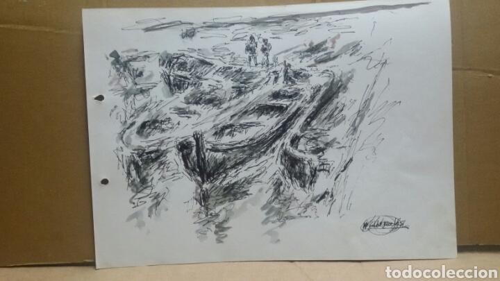 Arte: Acuarela El puerto original - Foto 3 - 155744086
