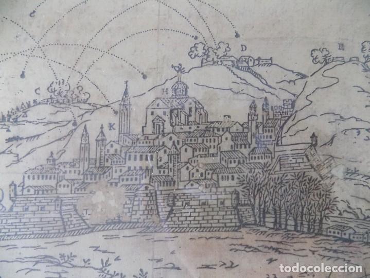 Arte: LIBRERIA GHOTICA. RARÍSIMO GRABADO DE LOS SITIOS DE GERONA POR LOS FRANCESES. 1809. ORIGINAL.MILITAR - Foto 4 - 155754294