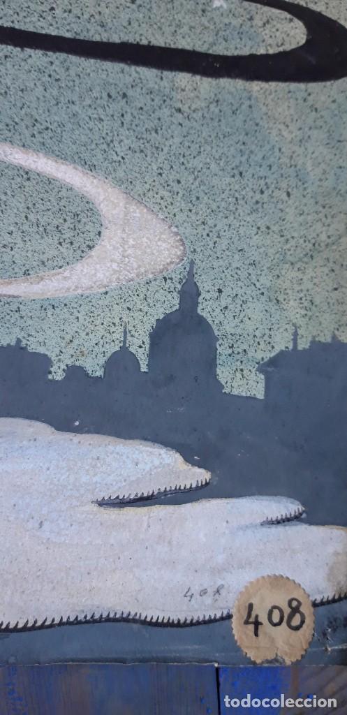 Arte: Pintura original, para la portada de Blanco y Negro, hacia 1920, Quizás de Eulogio Varela. - Foto 10 - 155815454