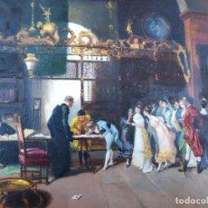 Arte: LA VICARIA DE FORTUNY. FRANCISCO RUIZ FERRANDIS. ALDAYA 1909-1992. PIEZA DE COLECCIÓN. Lote 155817982