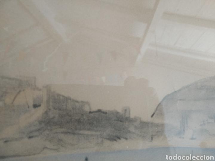 Arte: BARCELONA. EMILIO BOSCH ROGER. BARCELONA 1894-1980. BARCAS EN EL PUERTO - Foto 7 - 140723874