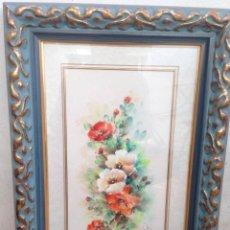 Arte: CUADRO PINTADO A MANO JULZ AÑO 95 PROCEDE DE GALERIA CUADRO CALIDAD. Lote 156962706