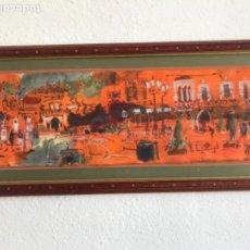 Arte: ACUARELA DE CRISTÓFOL ALMIRALL I MESTRES. FIGUERES GIRONA. 1990'S. . Lote 156999634