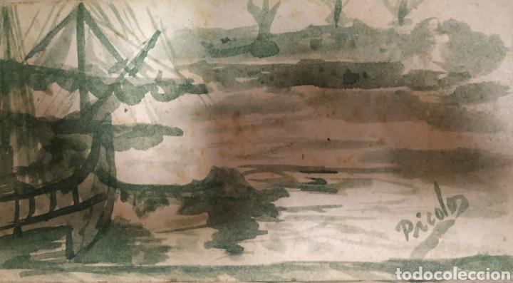 ACUARELA (Arte - Acuarelas - Antiguas hasta el siglo XVIII)
