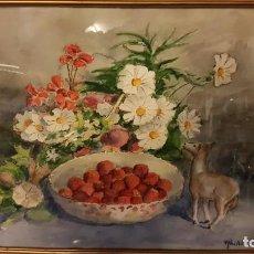 Arte: ACUARELA JOAN ABELLÓ. Lote 158958190
