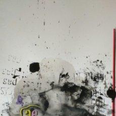 Arte: JAUME GENOVART. GOUACHE FIRMADO Y FECHADO.. Lote 159399993