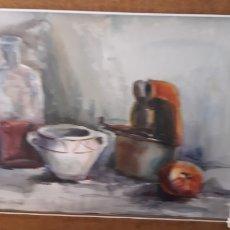 Arte: ACUARELA DE VAZQUEZ ORTEGO. Lote 159507806