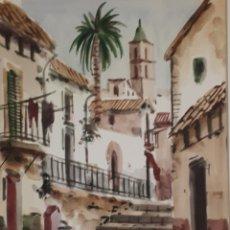 Arte: ACUARELA A.COLOMER. Lote 159663128