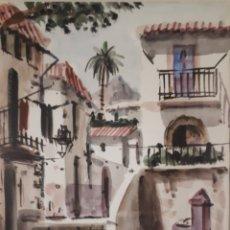 Arte: ACUARELA A.COLOMER. Lote 159663884