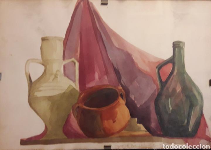 ACUARELA FIRMADA (Arte - Acuarelas - Contemporáneas siglo XX)