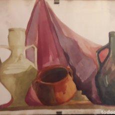 Arte: ACUARELA FIRMADA. Lote 159860384