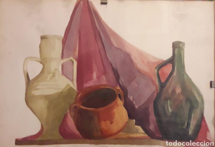 Arte: Acuarela firmada - Foto 3 - 159860384