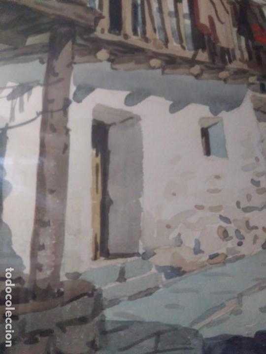 Arte: DOS CUADROS DE PEDRO VILARROIG, ACUARELA - Foto 7 - 160551862