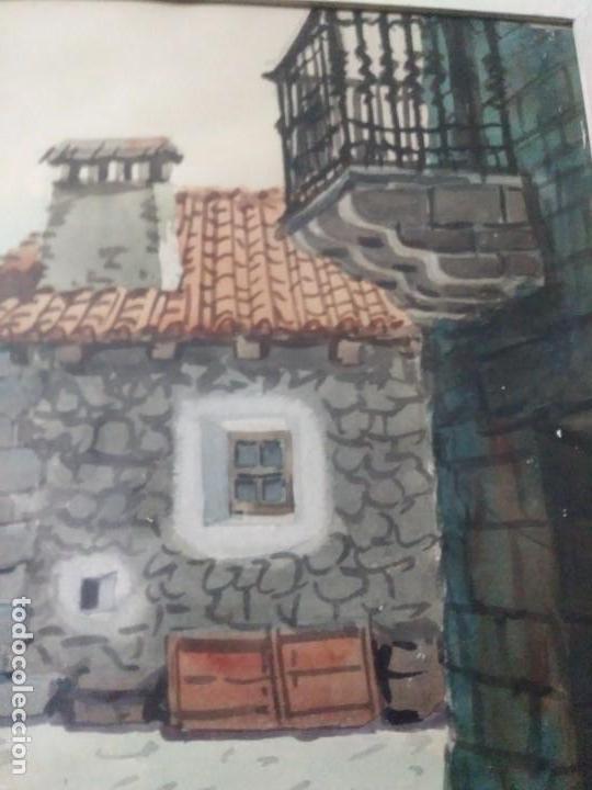 Arte: DOS CUADROS DE PEDRO VILARROIG, ACUARELA - Foto 9 - 160551862