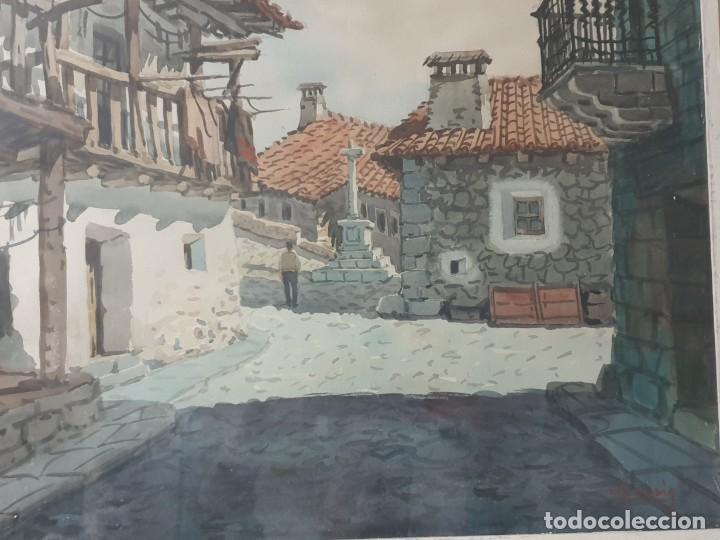 Arte: DOS CUADROS DE PEDRO VILARROIG, ACUARELA - Foto 10 - 160551862