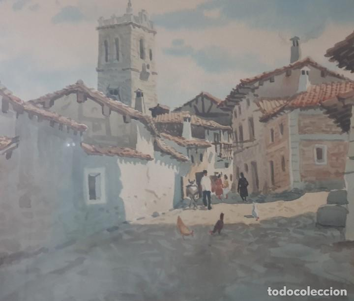 Arte: DOS CUADROS DE PEDRO VILARROIG, ACUARELA - Foto 12 - 160551862